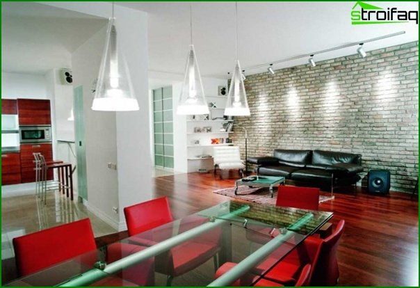 Living room furniture in a modern style (techno) - 4