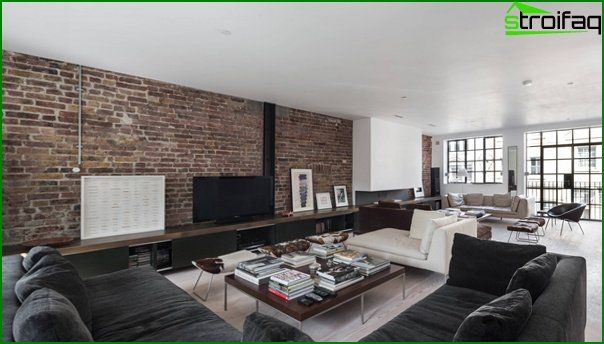 Living room furniture in a modern style (loft) - 1