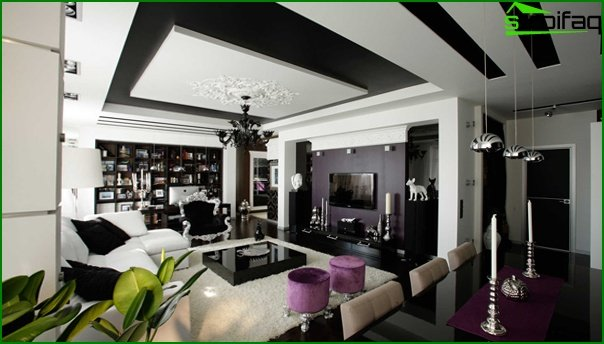 Living room furniture in modern style (fusion) - 2