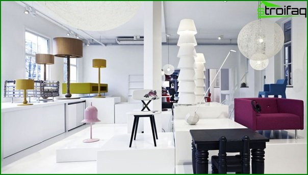 Living room furniture in modern style (fusion) - 3