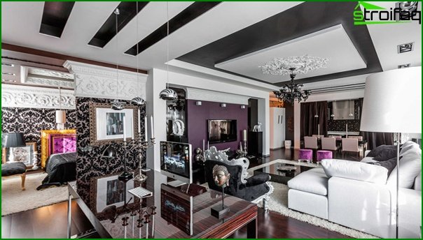 Living room furniture in modern style (fusion) - 4