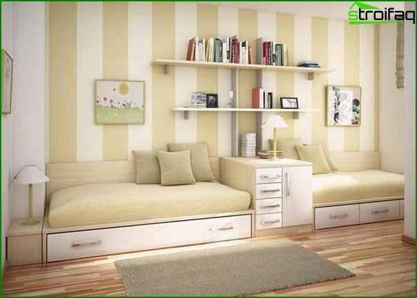 What furniture to choose for a small bedroom 4