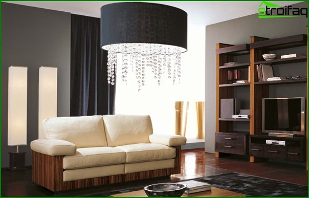 Living room furniture in modern style (modern) - 1