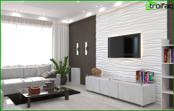 Living room furniture in modern style (modern) - 2