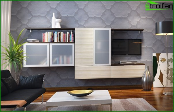 Living room furniture in modern style (modern) - 3