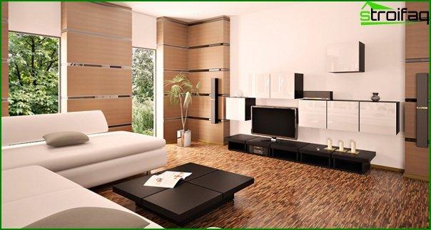 Living room furniture in modern style (modern) - 4