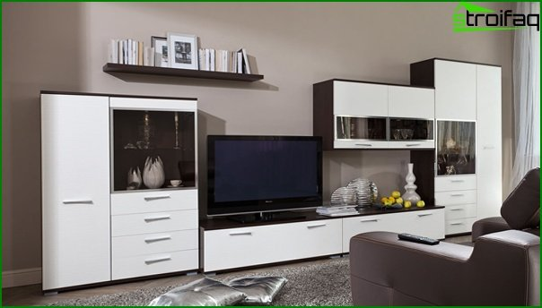 Living room furniture in modern style (modern) - 5