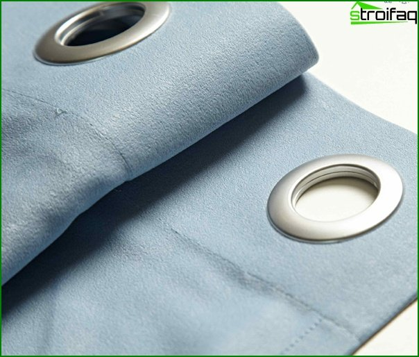 Curtains on the eyelets - 08