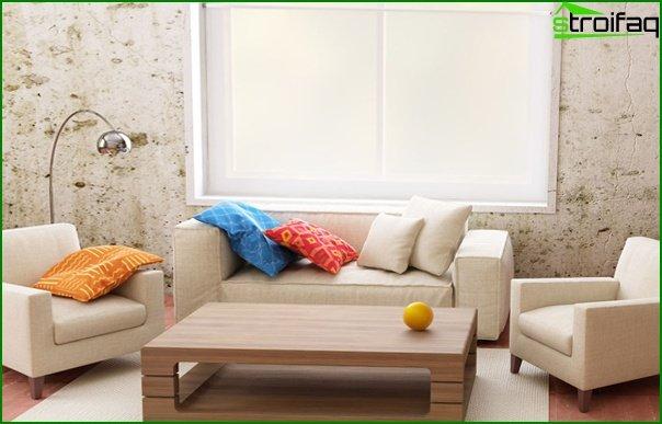Living room furniture in modern style (ekostyle) - 3