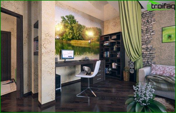 Living room furniture in modern style (ekostyle) - 4