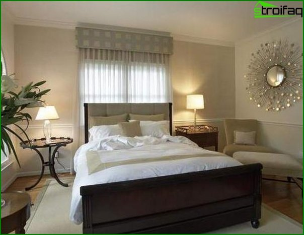 How to decorate a small bedroom - photo 1
