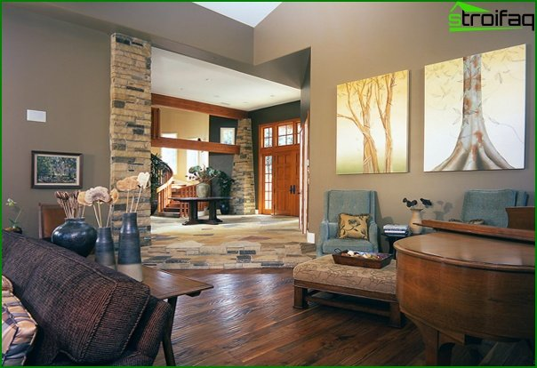 Living room in modern style (ecostyle furniture) - 2