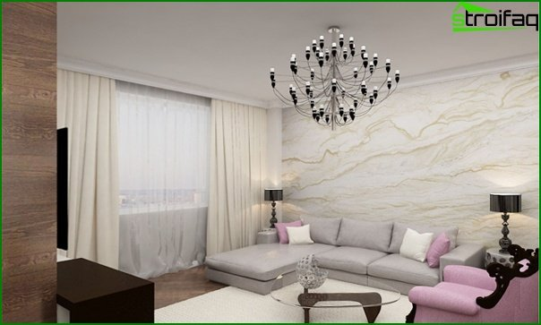 Living room furniture in modern style (art deco) - 2