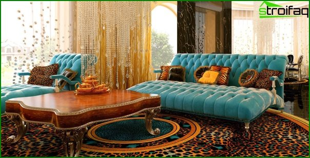 Living room furniture in modern style (art deco) - 4
