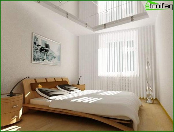 How to decorate a small bedroom - photo 2