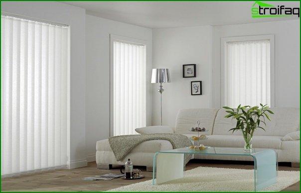 Curtains of basic tones - 06