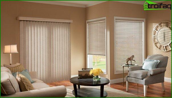 Curtains of basic tones - 07
