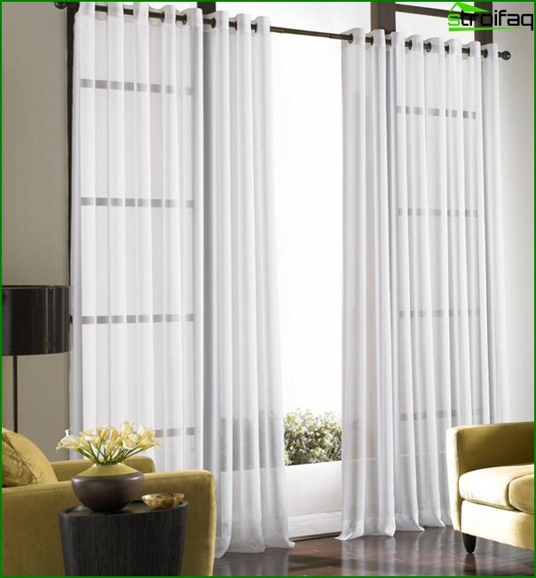 Curtains of base tones - 08