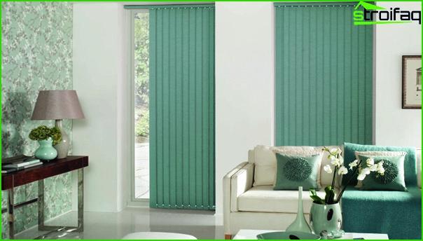 Curtains natural tones - 01