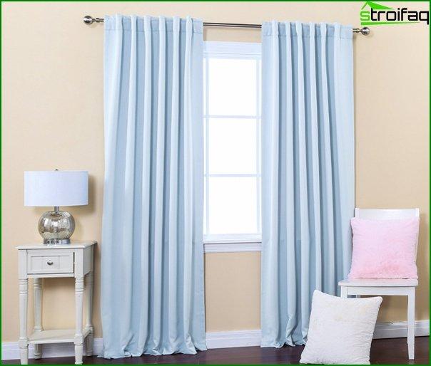 Curtains natural tones - 06