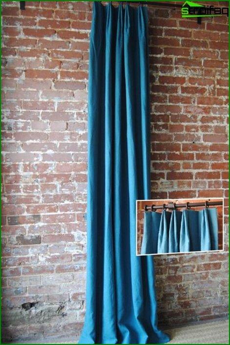 Curtains natural tones - 07