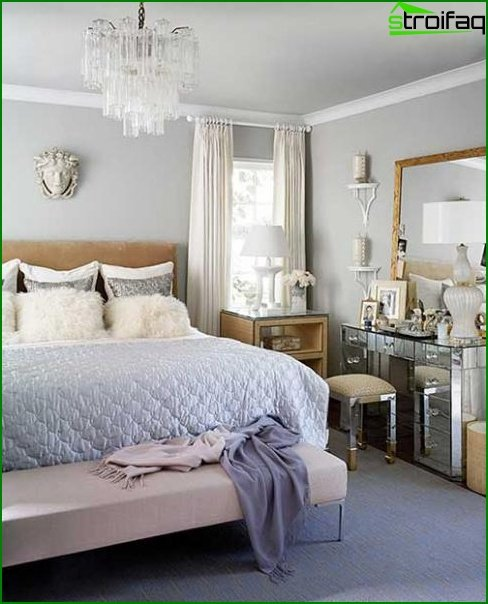 How to decorate a small bedroom - photo 3