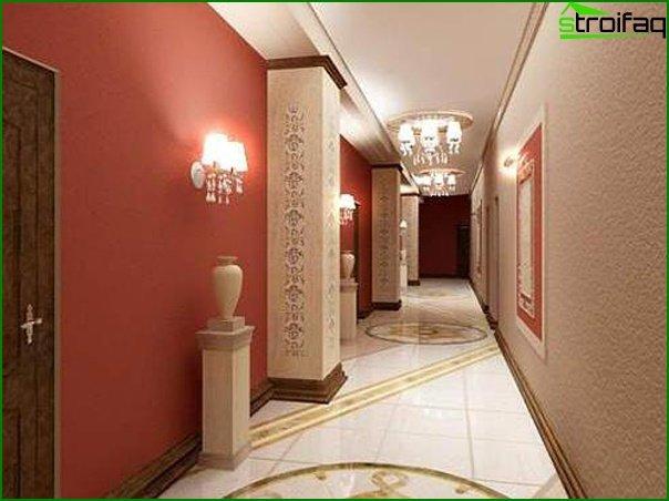Design of a narrow hallway