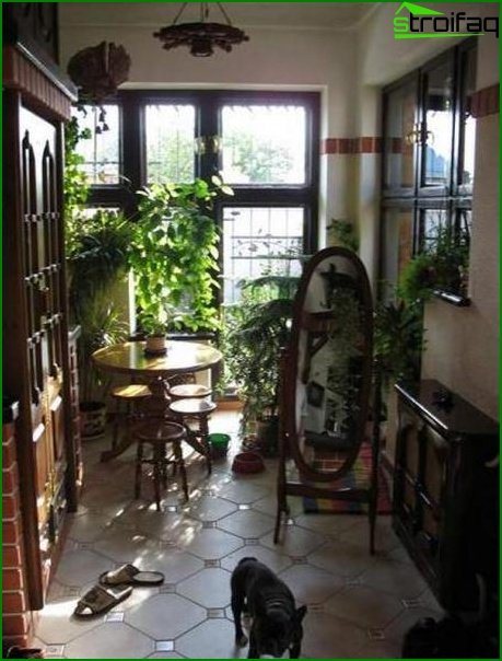 Corridor in a private house