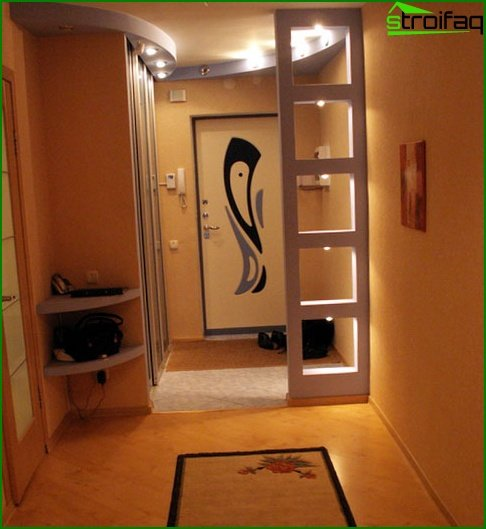 Anteroom in Japanese style