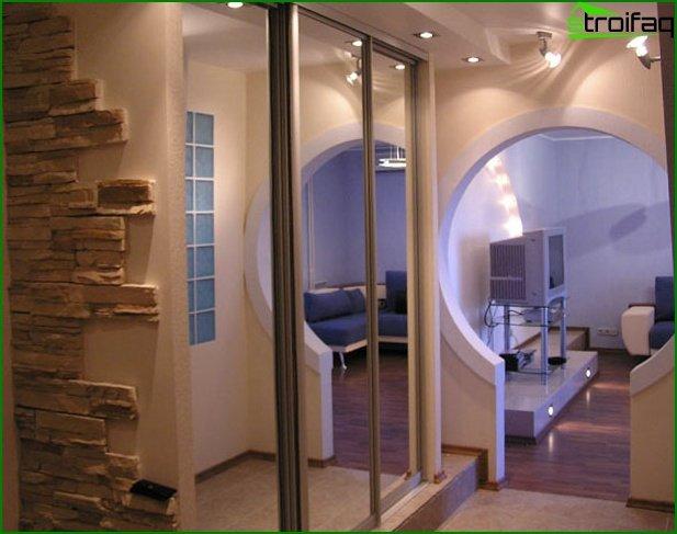 Photo of the hallway design