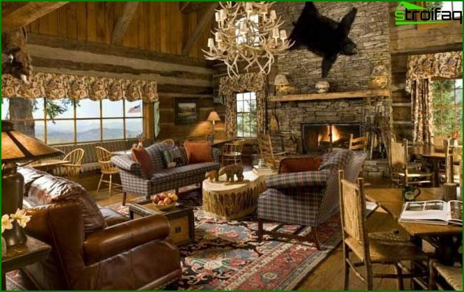 Country style in the interior