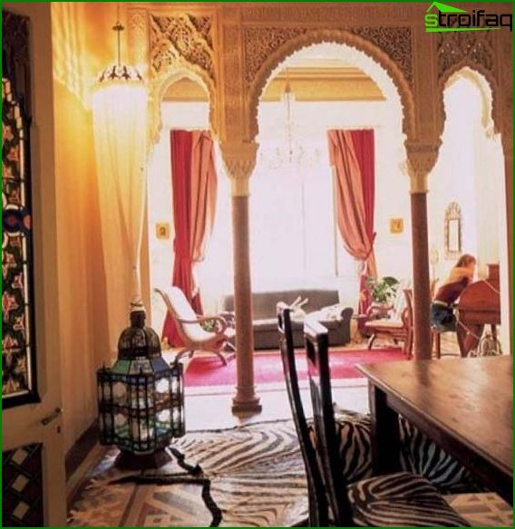 Arabic style in the interior