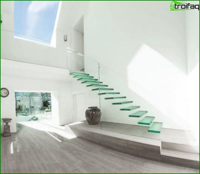 Photo of beautiful stairs to the second floor