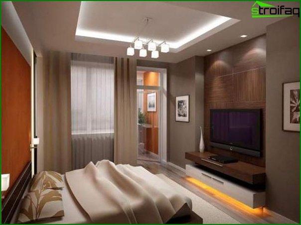 If the bedroom has a balcony 3