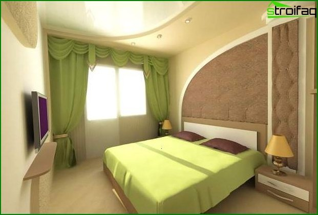 Design of a small bedroom 20