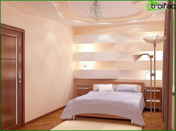 Design of a small bedroom 22