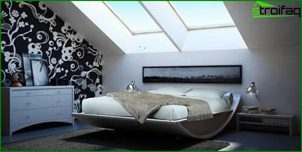 Design of a small bedroom 23