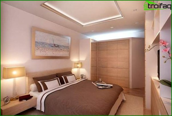 Design of a small bedroom 25
