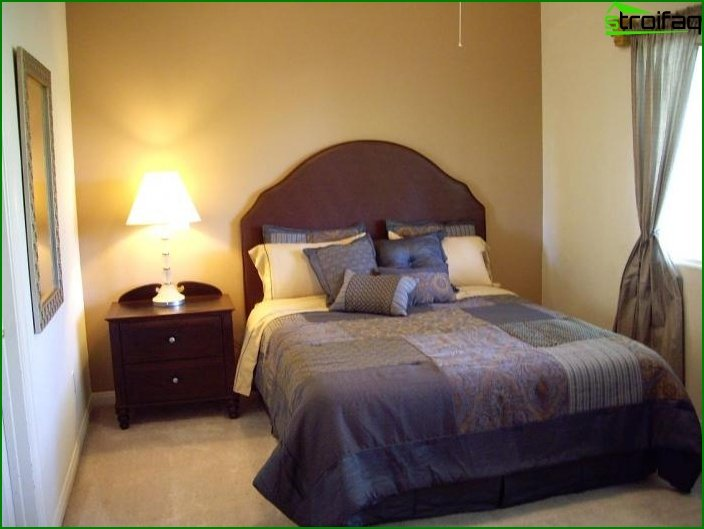 Interior of a small bedroom - photo 2