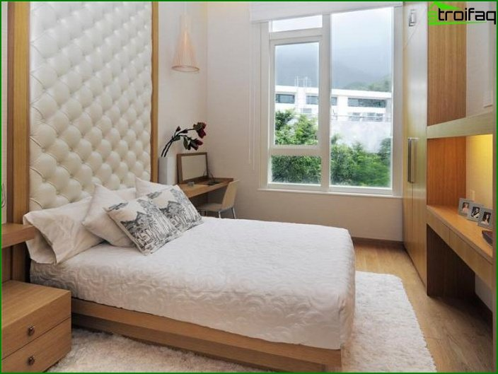 Interior of a small bedroom - photo 6