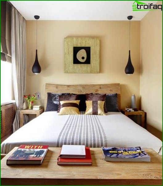 Design of a small bedroom - photo 7