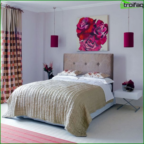 Design of a small bedroom - photo 11