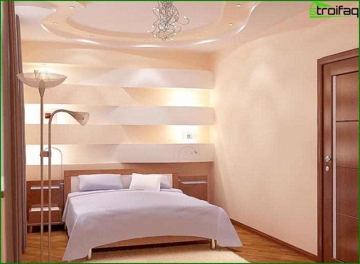Design of a small bedroom - photo 13