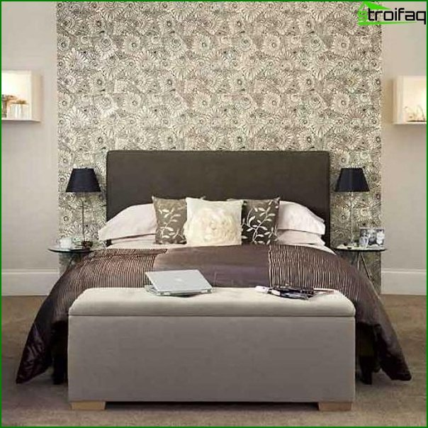 Design of a bedroom of small size 2