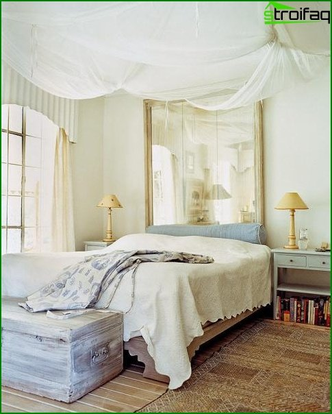Design of a small bedroom 4