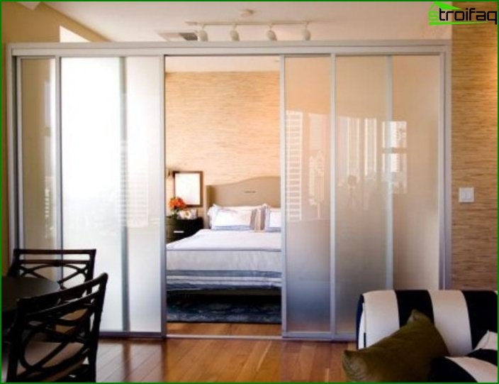 Design of one-room apartment 9