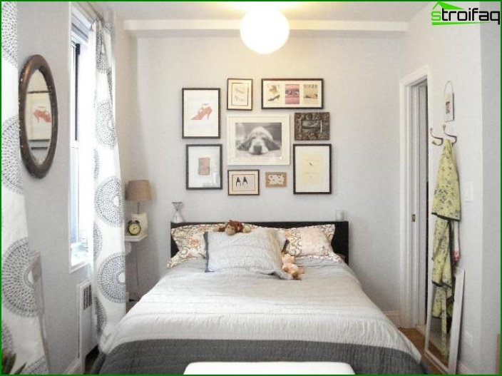 Design of a small bedroom 5