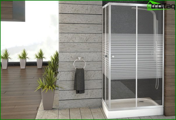 Shower cabin (open) - 3