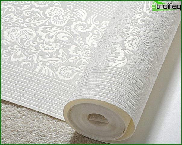Varieties of non-woven wallpaper - 1