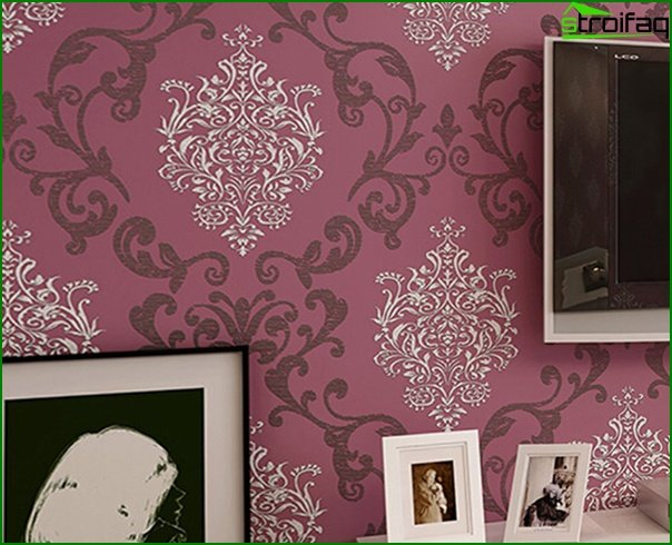 Varieties of non-woven wallpaper - 2